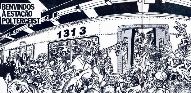 Exposição em Brasília reúne quadrinhos de Angeli e Laerte sobre metrópoles