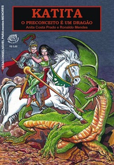Katita: o preconceito é um dragão, agora em formato digital | Lançamento