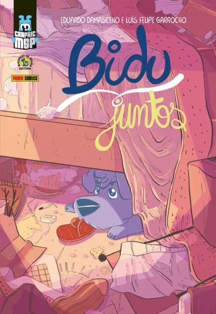 Previews de Bidu – Juntos, de Eduardo Damasceno e Luís Felipe Garrocho.
