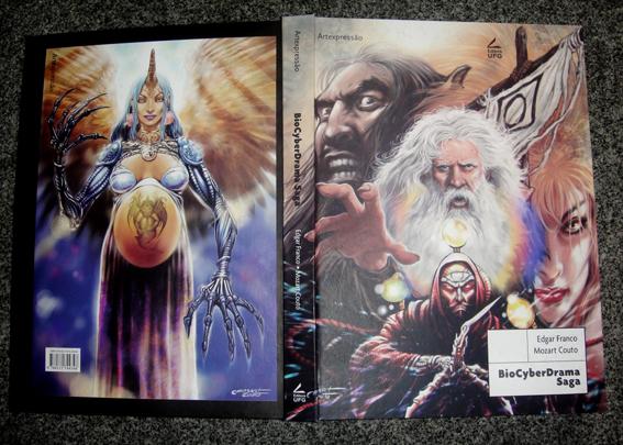 BioCyberDrama Saga, de Edgar Franco e Mozart Couto, ganha segunda edição ampliada em capa dura