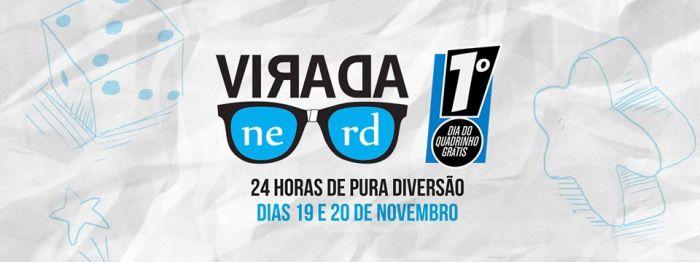Editora Devir promove o evento Virada Nerd + 1º Dia do Quadrinho Grátis, confira.