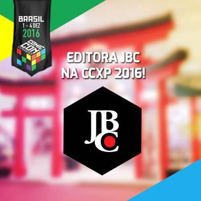 Confira as trações do Estande da Editora JBC na CCXP2016