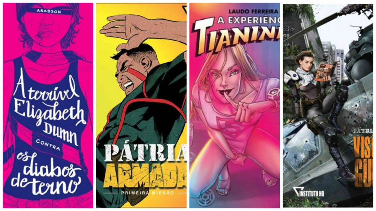 Conheça os Quadrinhos lançados pelo Instituto HQ na CCXP 2016