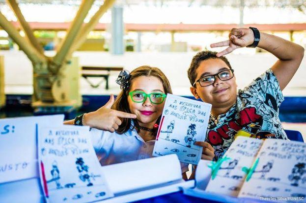 Espaço HQ traz feira de quadrinhos e arrecada gibis   Evento