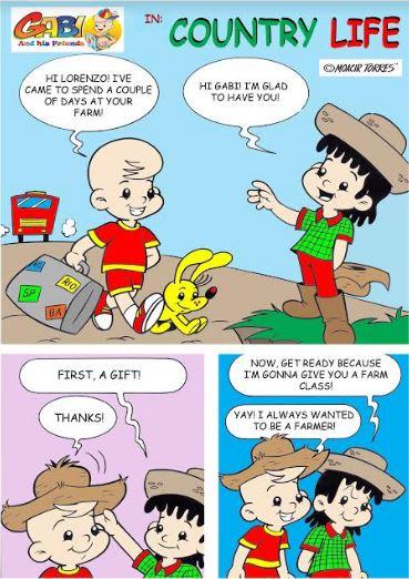 Quadrinhos da Turma do Gabi em Inglês pela Amazon