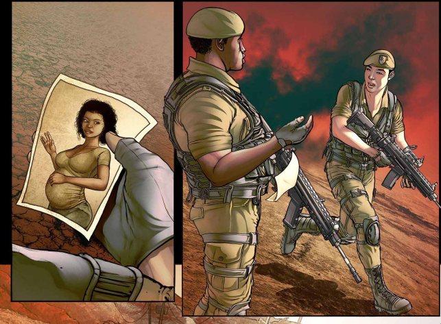 """""""Pátria Armada: Visões de Guerra""""- pré-venda antes de ser lançado na CCXP 2016"""