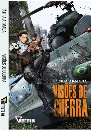 """""""Pátria Armada: Visões de Guerra"""" trabalho de mais de 50 artistas é lançado na Livraria Cultura"""