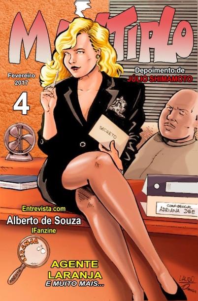 O Fanzine Múltiplo voltou, e já esta na quarta edição | Lançamento