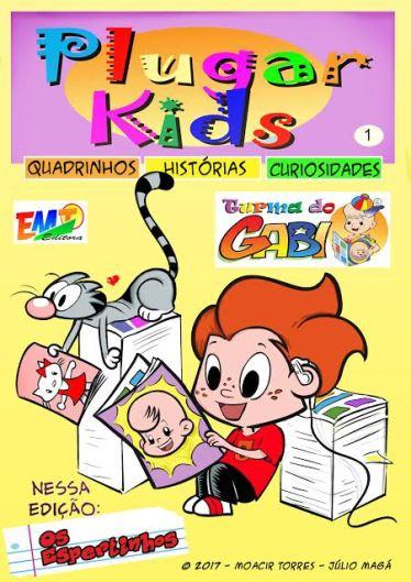 Revista Plugar Kids é a nova revista infantil da Editora EMT no site Amazon