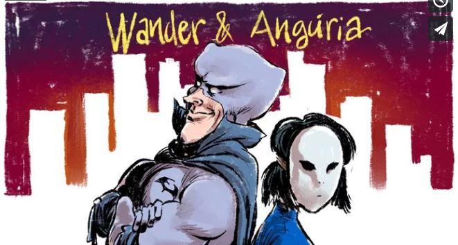 Luciano Félix e Ary Santa Cruz buscam apoio para Wander & Angúria | Catarse