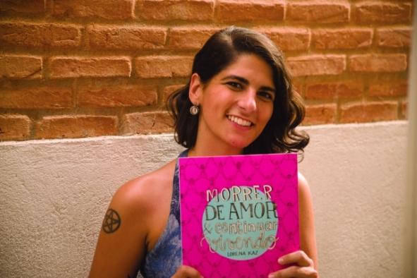 A autora, Lorena Kaz.