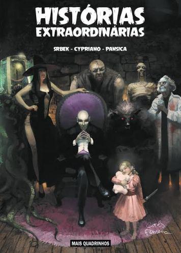 Mais quadrinhos em coletânea digital, no Social Comics.