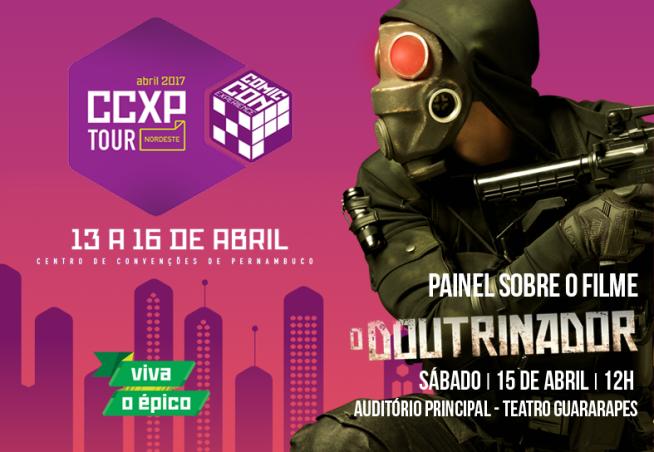 Downtown Filmes apresenta painéis de 'Cine Holliúdy 2' e 'O Doutrinador' na CCXP Tour Nordeste