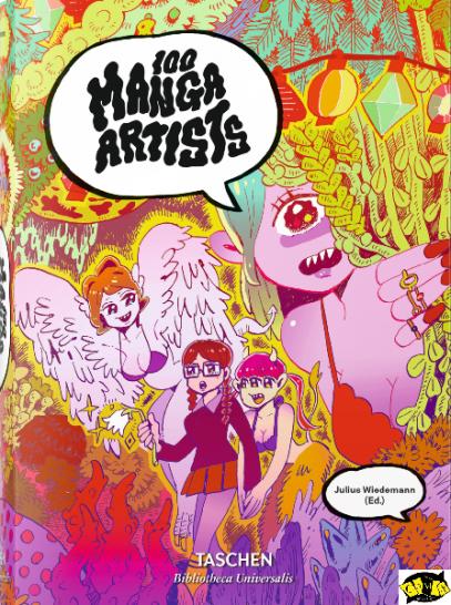 100 Artistas de Manga - Obra apresenta os maiores criadores do Mangá | Lançamento