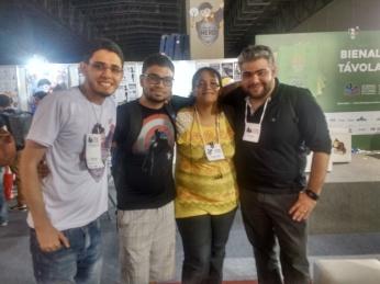 Junto com Rafael Melo, Icaro e Deco Neves