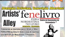FENELIVRO abre inscrições para o Artists' Alley Power-Kon Recife no Centro de Convenções de Pernambuco.